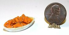 Dollhouse Miniature Sweet Potatoes in Bowl Raindrop Minis 1:12 Scale