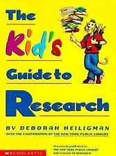 The Kid's Guide to Research, Deborah Heiligman~David Cain, Very Good Book