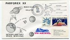 1980 Parforex XX Interplanetary Space Mission Pioneer Saturn Viking Mars Jupiter