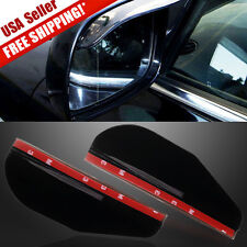 2X Universal Smoke Rear View Side Mirror Shade Rain Board Sun Visor Shield Car