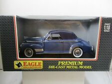 1/18 SCALE EAGLE COLLECTIBLES 1941 CHEVY CONVERTIBLE