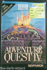 Adventure Quest IV 4 IBM/DOS Apple II Commodore 64