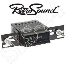 """RETROSOUND Autoradio """"Model 2"""" schwarzes Display+Drucktasten Bluetooth USB Radio"""