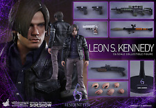 "RESIDENT EVIL 6 Leon S Kennedy 1/6 Action Figure 12"" Hot Toys Sideshow VGM 22"