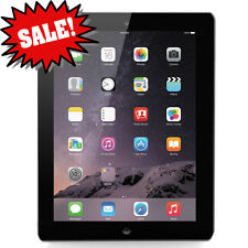 $199 SALE Apple iPad 4th Gen 32GB - Black (MD511LL/A) A1458  +Applecare Warranty