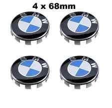 BMW 4x68mm logo NABENKAPPEN NABENDECKEL FELGENDECKEL EMBLEM 3er5er e46 sticker