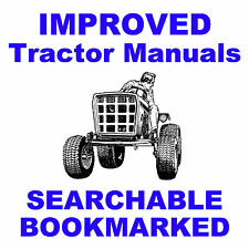 Allis CHALMERS B-210 & B-212 GARDEN TRACTOR REPAIR SERVICE MANUAL B210 B212 CD