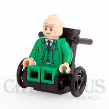 Professor X With Wheelchair  SUPER HEROES Model diy Blocks Minifigures Gifts Toy