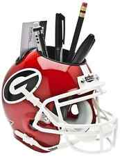 GEORGIA BULLDOGS NCAA Schutt Mini Football Helmet DESK CADDY
