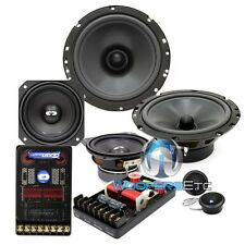 "CL-6E42 CDT AUDIO 3-WAY CAR COMPONENT SPEAKERS 6.5"" MIDBASS 4"" MIDRANGE 1"" TWEET"