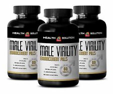 Testosterone level - MALE VIRILITY ENHANCEMENT - Tribulus plant Androgen - 3 Bot