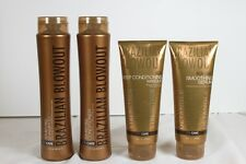 Brazilian Blowout 4 Pack Shampoo, Conditioner, Masque and Serum FREE Shipping