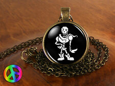 Undertale Papyrus Game Gamer Gaming Fashion Necklace Pendant Charm Jewelry Gift