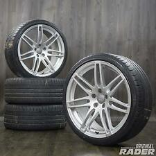 Audi A5 S5 B8 20-inch Alloy Wheels Summer Tyres Rims S line Double spoke
