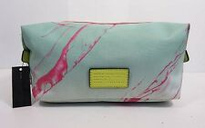 MARC by MARC JACOBS DOMO ARIGATO LANDSCAPE Mint/Pink Cosmetic Pouch Msrp $88.00