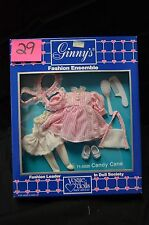 Vintage 1988 Vogue Dolls Dakin Ginny Candy Cane Outfit NRFB