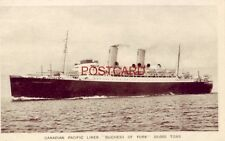 "CANADIAN PACIFIC LINER ""DUCHESS OF YORK"""