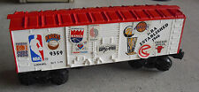 Vintage O Scale Lionel 9359 NBA Box Car with Stickers on Sides