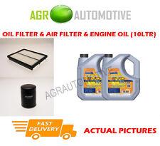 DIESEL OIL AIR FILTER KIT + LL 5W30 OIL FOR KIA SORENTO 2.5 170 BHP 2006-11