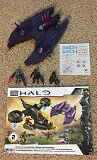 Mega Bloks Halo Covenant Vampire from UNSC Hornet 97123 Set Complete with figure