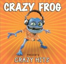 Crazy Frog presents Crazy Hits (CD, 2005) Usually ships in 12 hours!!!
