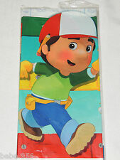 "NEW   HANDY MANNY 1- PLASTIC TABLE COVER 54"" X 102"",   PARTY SUPPLIES"