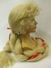 Rapunzel Wig ~ Story Book ~ Fairy Tale ~ Pantomime ~ blonde braided
