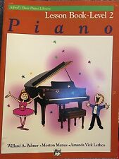 Alfred's Basic Piano Library Lesson Book: Level 2