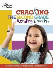 Princeton Review- Cracking the Second Grade Reading and Math  BRAND NEW!