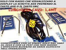 KIT CABLE AUX MP3 1.4 M FIAT Blaupunkt Grande Punto 500 Panda Musa Idea 159