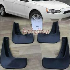 4 PCS MUD FLAPS SPLASH GUARDS FENDER For MITSUBISHI LANCER SEDAN DE ES 2008-2012