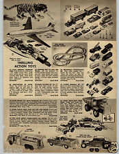 1962 PAPER AD Pan Am American Toy Airplane Jet Eldon Truck Pick Up Hot Rod