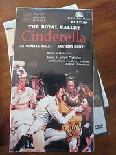 Prokofiev Cinderella The Royal Ballet VHS NEW Anthony Dowell, Antoinette Sibley