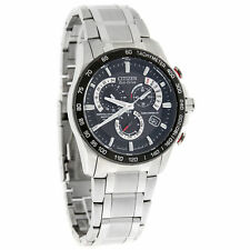 Citizen Eco-Drive Mens  Perpetual Calendar Chronograph Watch AT4008-51E