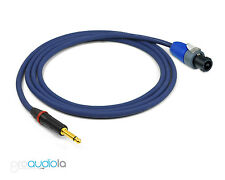Evidence Audio Siren II Speaker Cable | Neutrik TS to Speakon | 3 Foot 3 ft. 3'