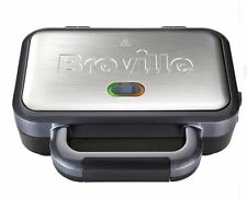 Breville Deep Fill Sandwich Toaster, Maker, Stainless Steel, Toastie, Non Stick
