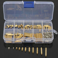 270x M2 Male to Female Brass Standoff Spacer PCB Board Hex Screws Nut Assortment