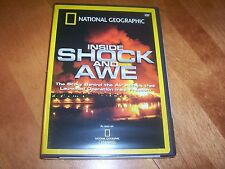 INSIDE SHOCK AND AWE Iraq Air War Baghdad Bombs Wars NATIONAL GEOGRAPHIC DVD NEW