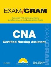 CNA Certified Nursing Assistant Exam Cram Book By Marty Walker Paperback New Gi