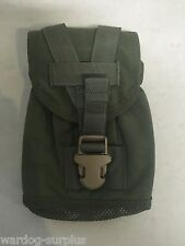 EAGLE INDUSTRIES U.S Military 1 qt Canteen Pouch OD Green Army USMC Molle Forces