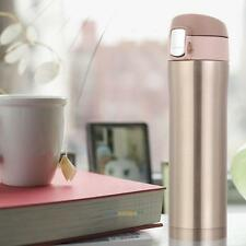 NEW 450ml Stainless Steel Insulated Thermos Vacuum Cup Coffee Mug Travel Bottle