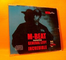 MAXI Single CD M-Beat Feat. General Levy Incredible 4TR 1994 Drum n Bass, Jungle