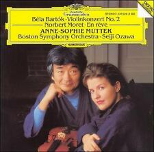 `Mutter, Anne-Sophie; Bosto...-Bart?k: Violinkonzert No 2; Mo  CD NEW