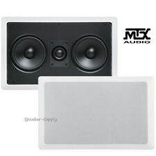 "MTX Audio CT2525LCR 5.25"" In Wall 2 Way LCR Left Right Center Channel Speaker"