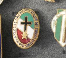 WW2 PNF DISTINTIVO ASSOCIAZIONE NAZIONALE MADRI E VEDOVE CADUTI GRUPPO SORELLE