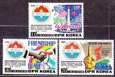 KOREA Pn. 1983 MNH** SC#2313/15 set, World Conference of Journalists Against Imp