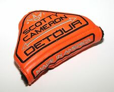 Titleist Scotty Cameron Detour Putter Cover Headcover Orange Pre-Owned