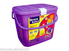 Branded Aristo Plastic basket lid & handle for house items, baby essentials, toy
