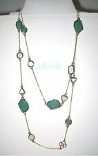 Stella and Dot Green Pippa Necklace