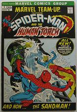 Marvel Team-Up #1 (Mar 1972, Marvel), VFN, Spiderman & Human Torch vs. Sandman